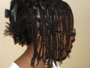 nattes cheveux crépus naturels