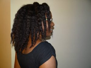 cheveux crépus - braid-out- misscamaelle