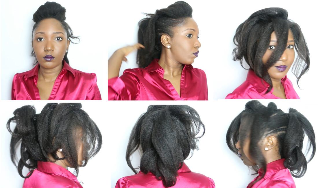 Résultats de l'aventure capillaire de Misscamaelle sur ses cheveux (début 2016)