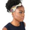 Headband EBENI avec nœud en wax