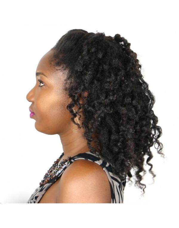 J'apprends à manipuler correctement mes cheveux afros pour éliminer la casse