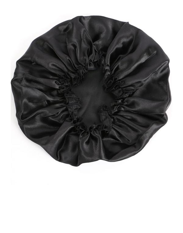 Bonnet de nuit en satin Goody
